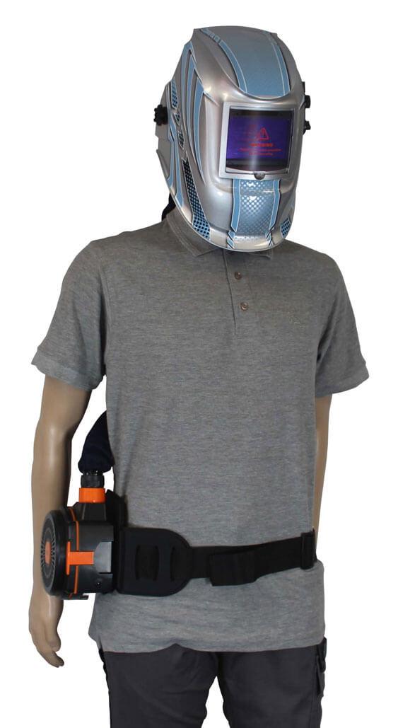 Air Fed Helmet - setup